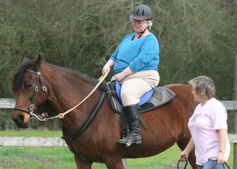 Therapeutic Riding Lessons at Bearfoot Ranch, Canton, GA