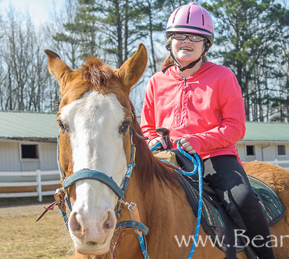 Kelsey's Riding Lesson