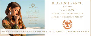 Bearfoot Ranch Partners with Kendra Scott for Fundraiser at Avalon, Alpharetta GA