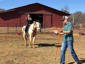 James Cooler Horsemanship photos at Bearfoot Ranch in Canton, GA