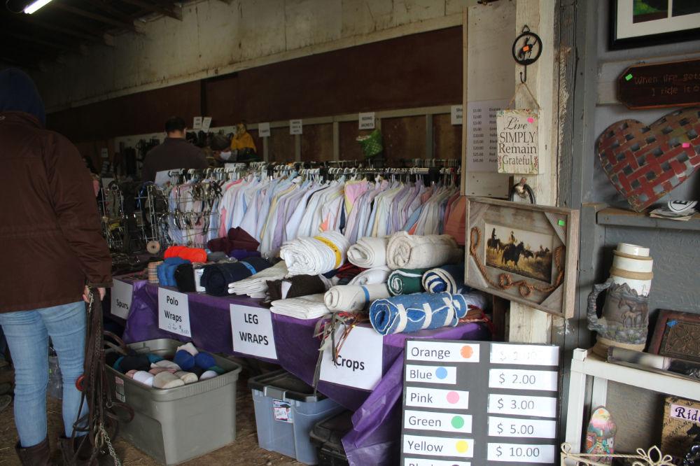 Tack Sale at Bearfoot Ranch